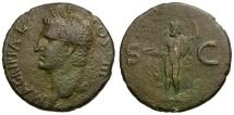 Ancient Coins - Agrippa. Struck under Caligula Æ AS / Neptune