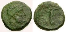 Ancient Coins - F/F Sicily Syracuse Æ20 / Roman Rule