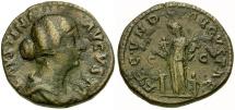Faustina II Æ AS / Fecunditas