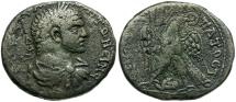 Ancient Coins - Caracalla. Phoenicia. Tyre AR Tetradrachm / Eagle