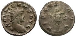 Ancient Coins - Gallienus Billon Antoninianus / Mars