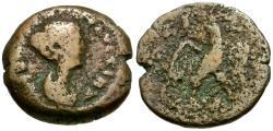 Ancient Coins - Faustina II Junior (AD 147-175). Egypt. Alexandria Æ Obol