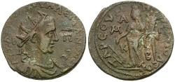 Ancient Coins - Valerian I. Cilicia. Tarsos Æ31 / Tyche