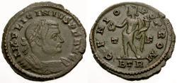 Ancient Coins - aVF/aVF Licinius I Æ Follis / Genius