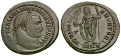 Ancient Coins - Maximinus II, as Augustus (AD 310-313) Æ Follis / Jupiter