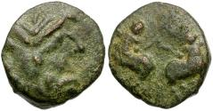 Ancient Coins - Macedon. Thessalonika Æ15 Reduced AS / Centaurs