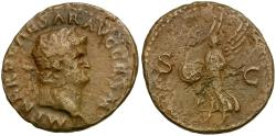 Ancient Coins - Nero Æ AS / Victory