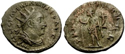 Ancient Coins - EF/gF+ Valerian I AR Antoninianus / Felicitas
