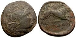 Ancient Coins - Thrace, Lysimachos Æ21 / Athena / Lion