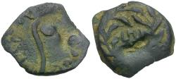 Ancient Coins - Judaea. Roman Procurators. Pontius Pilate Æ Prutah / LH