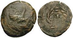 Ancient Coins - Mysia. Kyzikos Æ30 / Bucranium