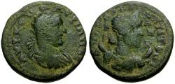 Ancient Coins - Valerian, Cilicia Anazarbus Æ23 / Selene or Artemis
