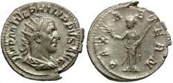 Ancient Coins - Philip I AR Antoninianus / Pax