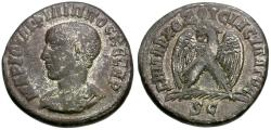 Ancient Coins - Philip II, as Caesar (AD 244-247). Seleucis and Pieria. Antioch AR Tetradrachm