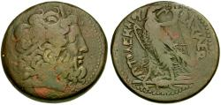 Ancient Coins - Ptolemaic Kings of Egypt. Ptolemy IV Philopator (222-205/4 BC) Æ40