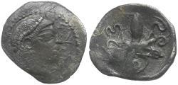 Ancient Coins - Sicily. Syracuse AR Litra / Octopus