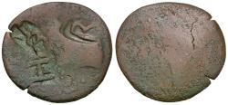 Ancient Coins - Sarmatia. Olbia Æ24 / Counterstamps