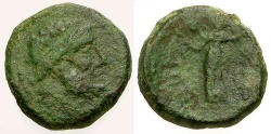 Ancient Coins - F/F Sicily Syracuse Æ20 / Roman Rule
