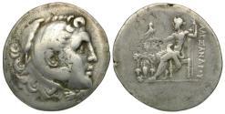 Ancient Coins - Macedonian Kings. Alexander III the Great (336-323 BC) AR tetradrachm