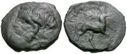 Ancient Coins - Thessaly. Magnetes Æ20 / Centaur