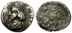 Ancient Coins - Kings of Persis.  Manuchtir (Manchihr) I AR Hemidrachm