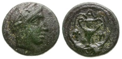 Ancient Coins - Bithynia. Kios Æ12 / Amphora
