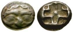 Ancient Coins - gF+/gF+ Mysia, Parion AR Drachm / Gorgon