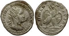 Ancient Coins - Volusian. Seleucis and Pieria. Antioch AR Tetradrachm
