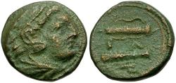 Ancient Coins - Kings of Macedon. Alexander III the Great Æ17