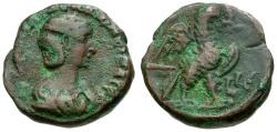 Ancient Coins - Salonina. Egypt. Alexandria Æ Tetradrachm / Eagle
