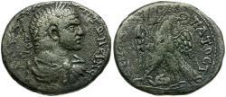 Ancient Coins - Caracalla. Phoenicia. Tyre AR Tetradrachm / Eagle