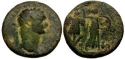 Ancient Coins - gF+/gF+ Domitian Caesarea Æ28 Caesarea / Judea Capta