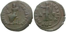 Ancient Coins - Time of Maximinus II (AD 310-313). Anonymous Æ Nummus / Jupiter