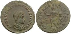 Ancient Coins - Constantine II, as Caesar (AD 316-337) Æ Nummus / Sol