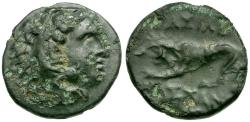 Ancient Coins - Kings of Macedon. Kassander. Uncertain Mint Æ16 / Lion