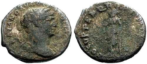 Ancient Coins - F Trajan Limes Denarius / Frontier coinage