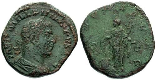 Ancient Coins - F+/F Sestertius of Philip I The Arab