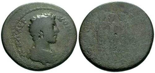 Ancient Coins - gF/VG Commodus AE25 / Three Graces