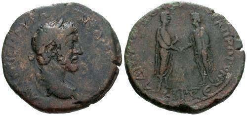 Ancient Coins - gF/gF Marcus Aurelius AE35 Amaisa Pontus