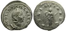 Ancient Coins - Herennia Etruscilla AR Antoninianus / Pudicitia