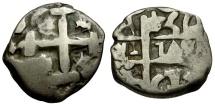 World Coins - Bolivia. Fernando VI AR 1 Real Cob
