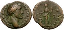 Ancient Coins - Antoninus Pius Æ As / Salus
