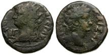 Ancient Coins - Nero. Egypt. Alexandria Billon Tetradrachm / Bust of Tiberius