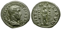 Maximinus AR Denarius / Fides