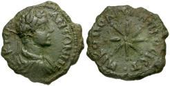 Ancient Coins - Caracalla. Moesia Inferior. Nikopolis ad Istrum Æ18 / Star