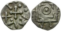 World Coins - Anglo Saxon. Continental Series. Series D - type 8 AR Sceat