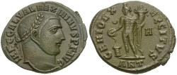 Ancient Coins - Maximinus II, as Augustus (AD 310-313) Æ Follis / Genius