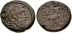 Ancient Coins - Seleucis and Pierra. Antioch. Autonomous Æ Tetrachalkon