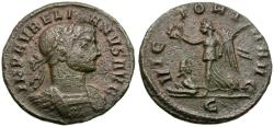 Ancient Coins - Aurelian (AD 270-275) Æ Denarius / Victory