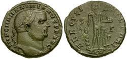 Ancient Coins - Maximianus Æ Follis / Hercules